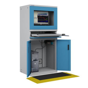 Computer Cabinet & Workbench